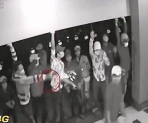 【動画】ギャング達がマチェーテで店を襲撃する衝撃映像