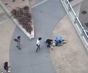 【動画】白人男性が黒人少年達の襲われボッコボコに殴られ携帯電話を奪われる衝撃映像
