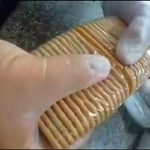 【動画】ブラジルの刑務所に持ち込まれた食品を調べると中から…