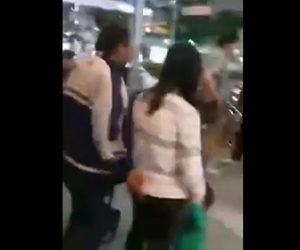 【動画】通りすがる女性のお尻を触りまくる男がヤバい