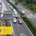 【動画】女性ドライバーが高速道路で5分間停車しバックして…