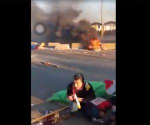 【動画】イラクの反政府デモで治安部隊がデモ隊に実弾を撃ちまくる衝撃映像
