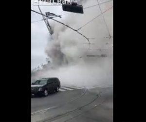 【動画】建設中ホテル倒壊、建設作業員が必死に逃げる衝撃映像