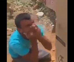 【動画】車椅子をプレゼントされ泣いて大喜びする足の悪い男性