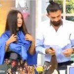 【動画】テレビ番組で髪の長い女性が美容師に髪の毛をバッサリ切られてしまい…