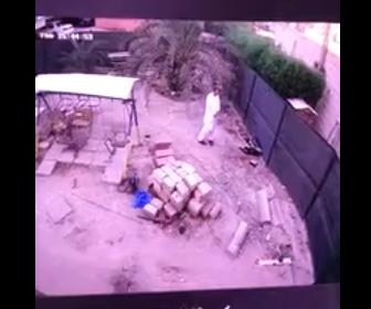 【動画】裏庭が突然陥没し男性が穴に落下してしまう衝撃映像