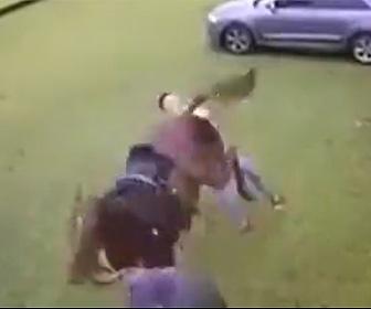 【動画】馬の後ろを歩いてしまった男性が馬に蹴り飛ばされ意識を失う衝撃映像