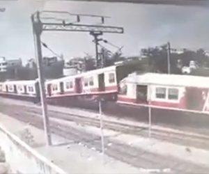 【動画】インドで電車が正面衝突してしまう衝撃事故映像