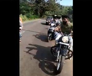【動画】結婚を祝うバイクの列に猛スピードの車が突っ込んでくる衝撃事故映像