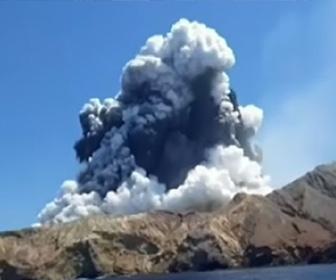 【動画】ニュージーランド、ホワイト島の火山噴火。8人行方不明、生存者いない可能性