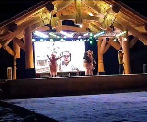 【動画】世界で最も悲しい着ぐるみショー。ステージで着ぐるみが踊っているが…