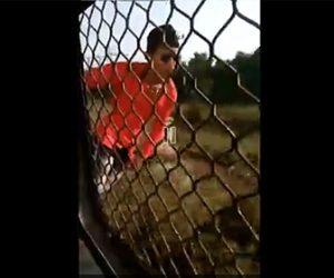 【閲覧注意動画】「トレインサーフィン」猛スピードで走る電車から体を乗り出す男性が…