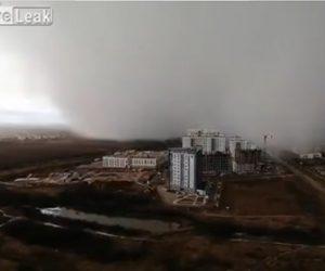 【動画】大雪が迫って来る、雪の降り始めがハッキリわかる衝撃映像