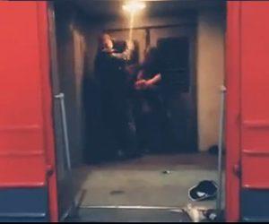 【動画】電車内で酔っ払いの喧嘩を一瞬で止める方法
