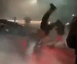 【動画】ドリフト走行を見に来てたギャラリーの男性が2回もドリフト走行する車にはね飛ばされる