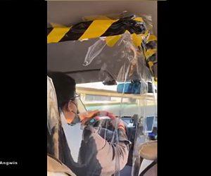 【動画】新型コロナウイルスの影響で中国北京のタクシーが凄い事になっている