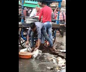 【動画】下水で食器を洗うインドの屋台がヤバすぎる衝撃映像