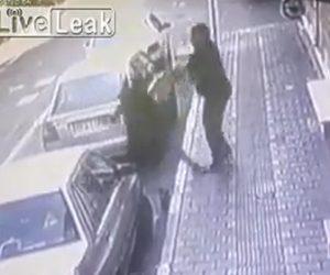 【動画】ヒジャブを付けて歩くイスラム女性が男から暴行されるが必死に反撃する衝撃映像