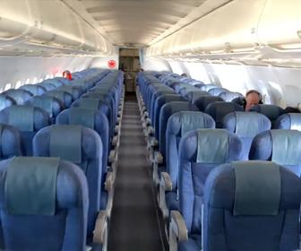 【動画】新型コロナウイルスでアメリカ行きの飛行機が空席だらけな衝撃映像