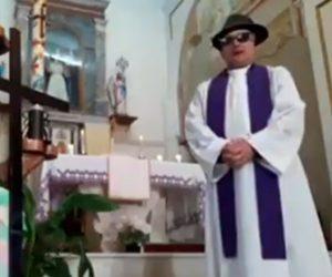 【動画】祭司がフェイスブックに動画をアップするが間違ってフィルターを使ってしまい…