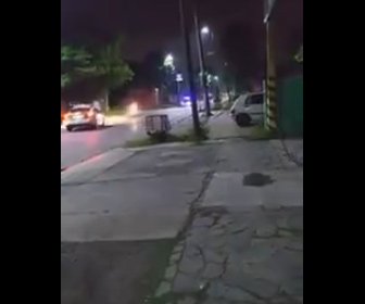【動画】メキシコ警察 逃走するバイクを止める方法がヤバすぎる