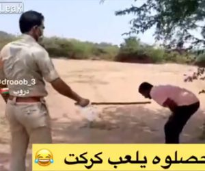 【動画】インドの外出禁止違反の罰がヤバい。森でクリケットをしていた男性が警察に見つかり…