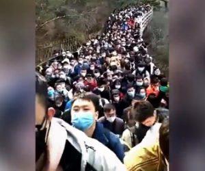 【動画】中国でコロナ収束ムードが広がり、世界遺産に観光客殺到してしまう衝撃映像