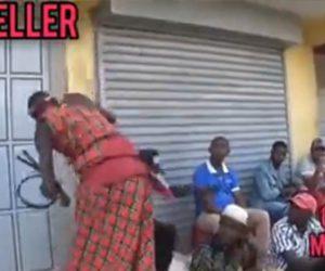 【動画】ケニアで密集して集まる人達を帰らせる方法が凄い