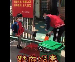 【衝撃】中国の小学校。新型コロナウイルス対策が凄い!