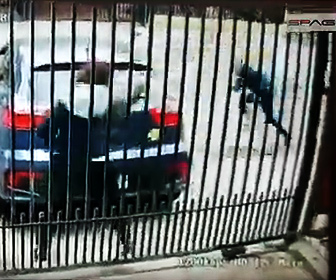 【強盗】非番の女性警察官が強盗に襲われ銃撃戦になる衝撃映像