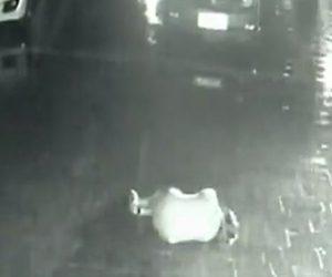 【衝撃】酔っ払い駐車場で眠ってしまった女性に悲劇が…