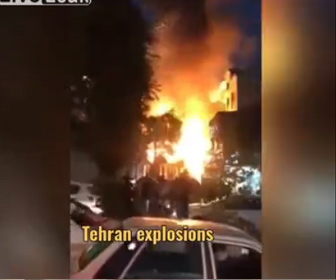 【攻撃】イラン核施設の火災「イスラエルが爆弾使い攻撃」米紙が伝える