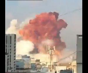 【爆発】ベイルートで大爆発 爆発物保管庫で火花に引火か 死者100人超