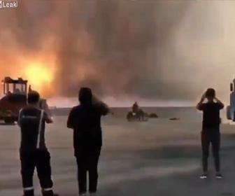 【衝撃】ベイルートの大爆発。近距離からの映像が凄い!