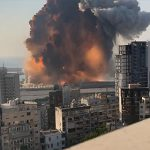 【衝撃】ベイルートの大爆発。4Kスローモーション映像がヤバすぎる!