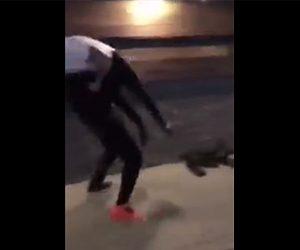【喧嘩】黒人達がストリートで大乱闘。
