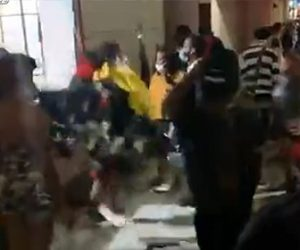 【衝撃】ミネアポリスの抗議デモで破壊や略奪。グッチの店内から商品を略奪しまくる衝撃映像