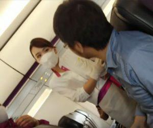 【衝撃】男性がマスク着用拒否で客室乗務員とトラブルになり新潟空港に臨時着陸
