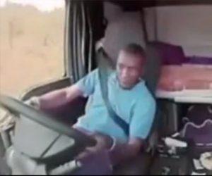 【強盗】トラックを運転中の男性が強盗から銃で撃たれるが…