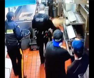 【衝撃】女がレストランでお金を支払わず天井裏から逃げようとするが…