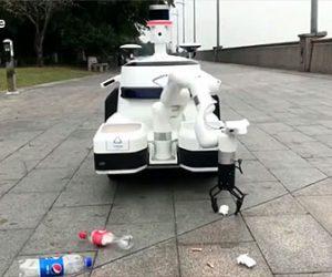 【衝撃】ゴミを分別して拾うロボットが凄い!