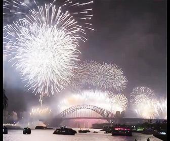 【花火】2021年 新年を祝うカウントダウン花火映像(台湾・オーストラリア)