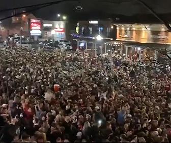 【動画】アラバマ大が全米大学フットボール優勝。コロナ禍の中、ファンが街に殺到する衝撃映像