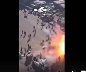 【閲覧注意動画】イラク・バグダッドで自爆テロ。中心地の市場で突然爆発する衝撃映像