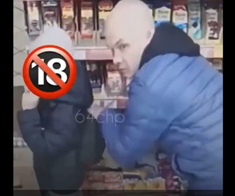 【泥棒】父親が息子のリュックに商品を入れて盗もうとするが…