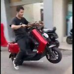 【事故】バイクを購入したばかりの男性。バイクを発進させるが…