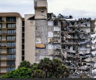 【倒壊】12階建マンションが突然崩落、99人が安否不明。監視カメラが捉えた「倒壊の瞬間」