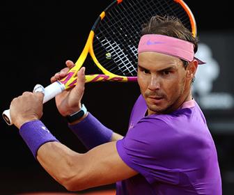 【動画】飛んできたテニスボールをピタッとラケットで受け止めるナダルが凄い