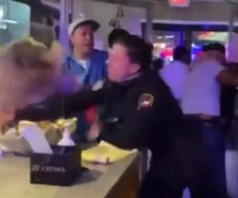 【動画】女性警察官が強すぎる